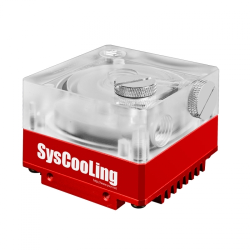 Syscooling P67B water pump RGB Version 500L/H for liquid cooling system quiet water pump