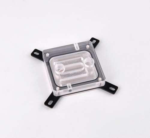 Syscooling SC-C26 water cooling cpu clock computer cpu water block transparent acrylic cover